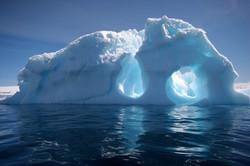 Antarctic Iceberg reflections.