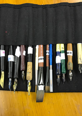 For the love of the pen
