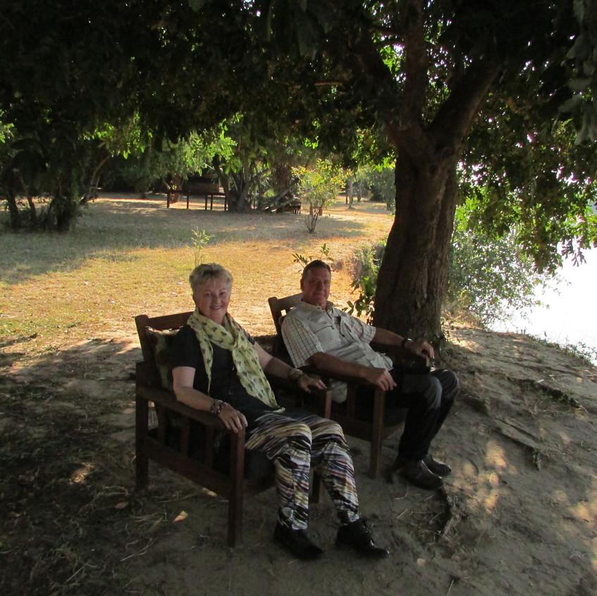Overlooking the Luangwa River