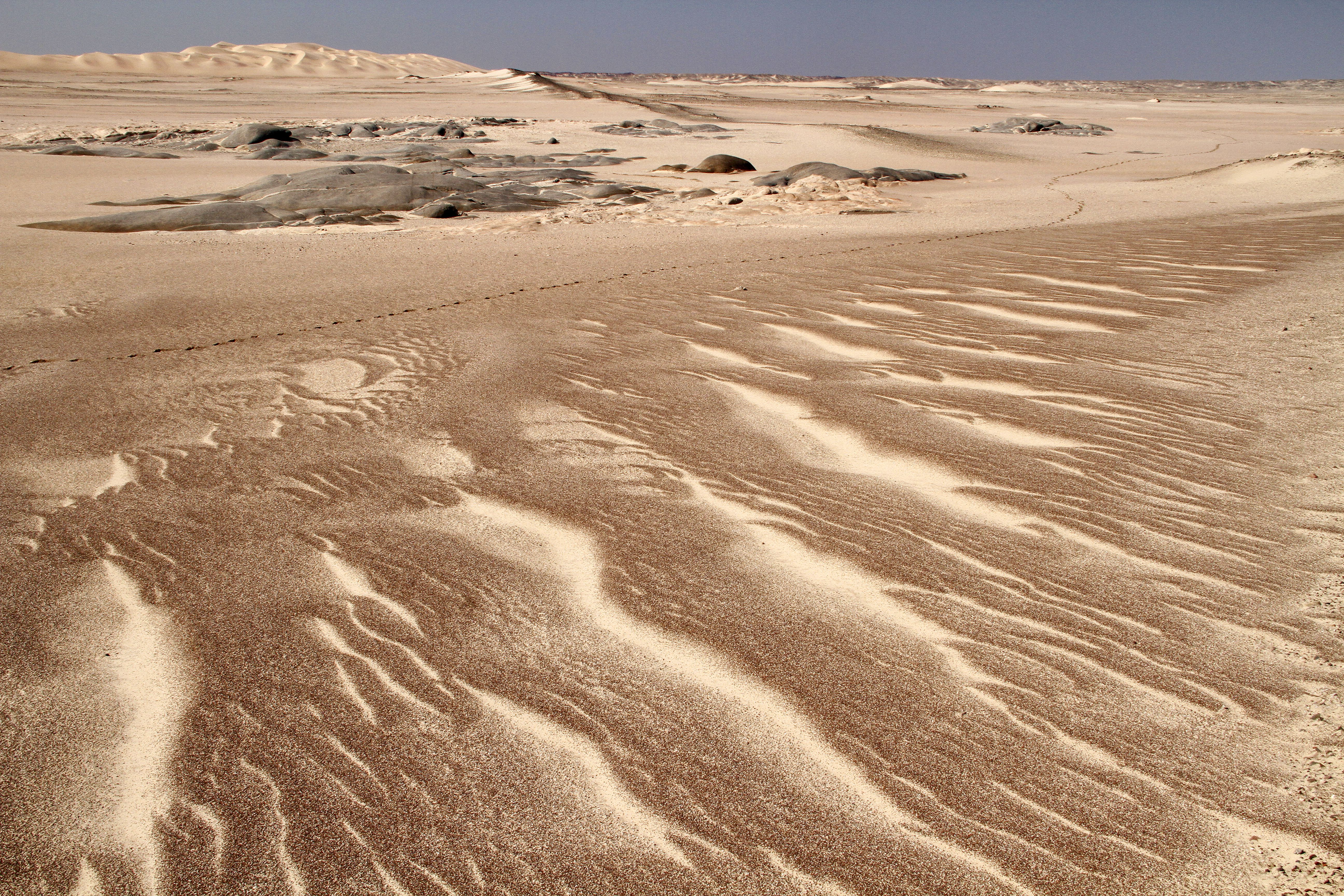 Desert Sand Patterns.