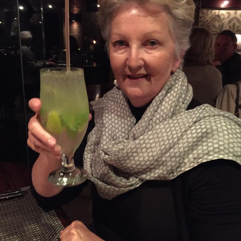 A toast to Trish