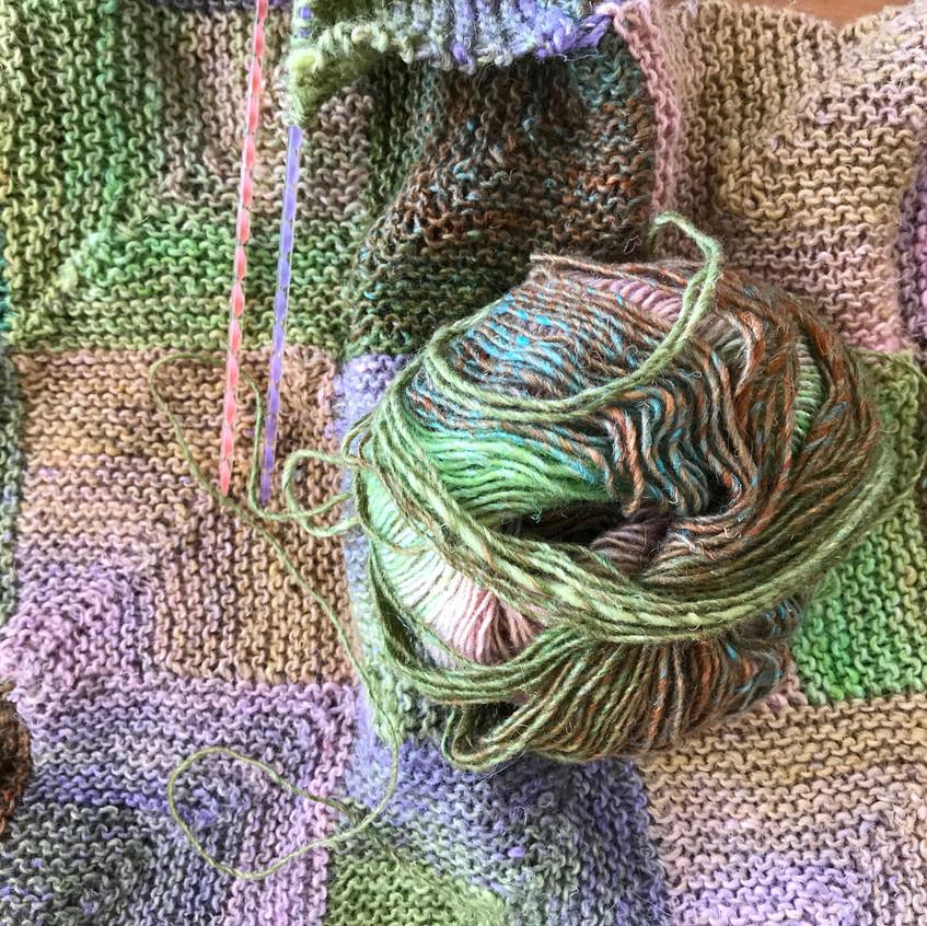 Mitered corner (knit)