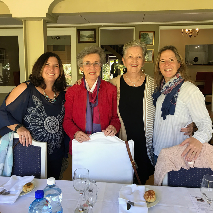 Caryn, Linda, A-M & Tessa