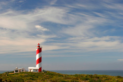Lighthouse Cloudscape.