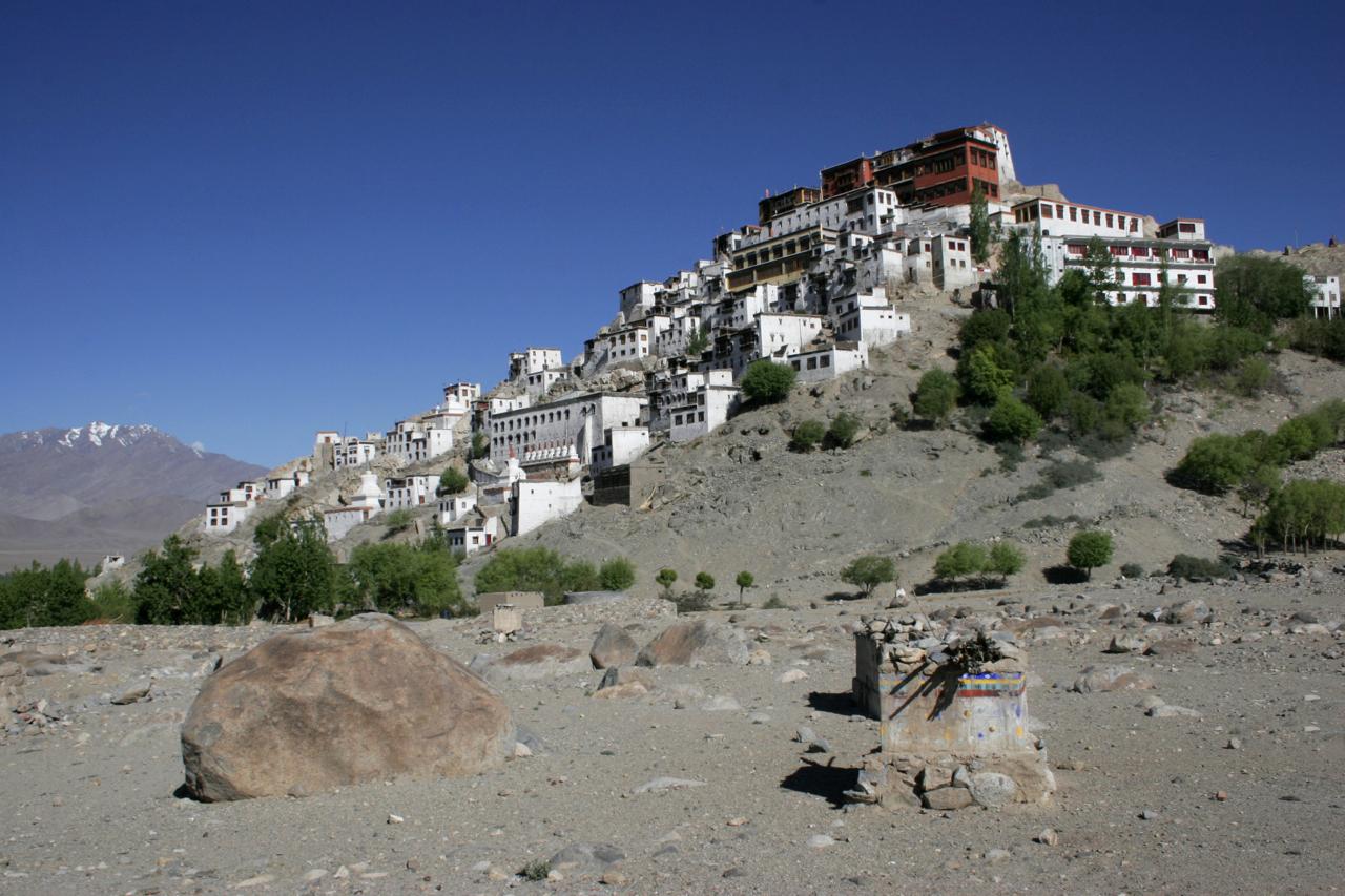 Thiksey Monastery, Leh, India.