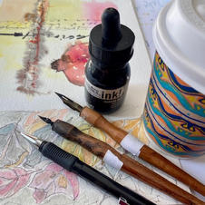 Pens, Paper and Coffee