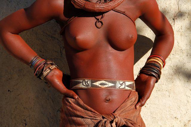 Himba torso, Namibia.