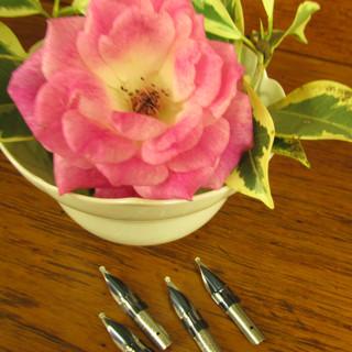 Floral pens