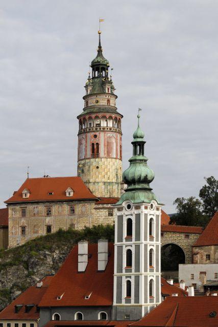Cesky Krumlov Towers.