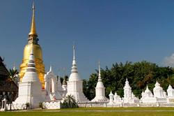 Chaing Mai temple, Thailand.