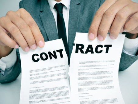What Happens When a Buyer Cancels a Sales Contract?