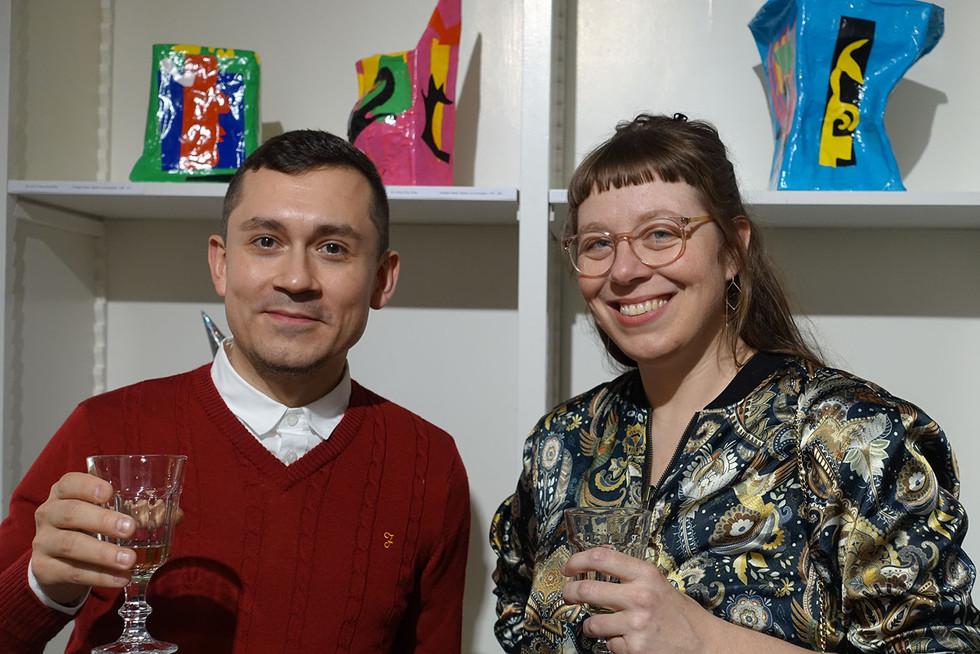 Christoph Schleiffer und Carla Buser