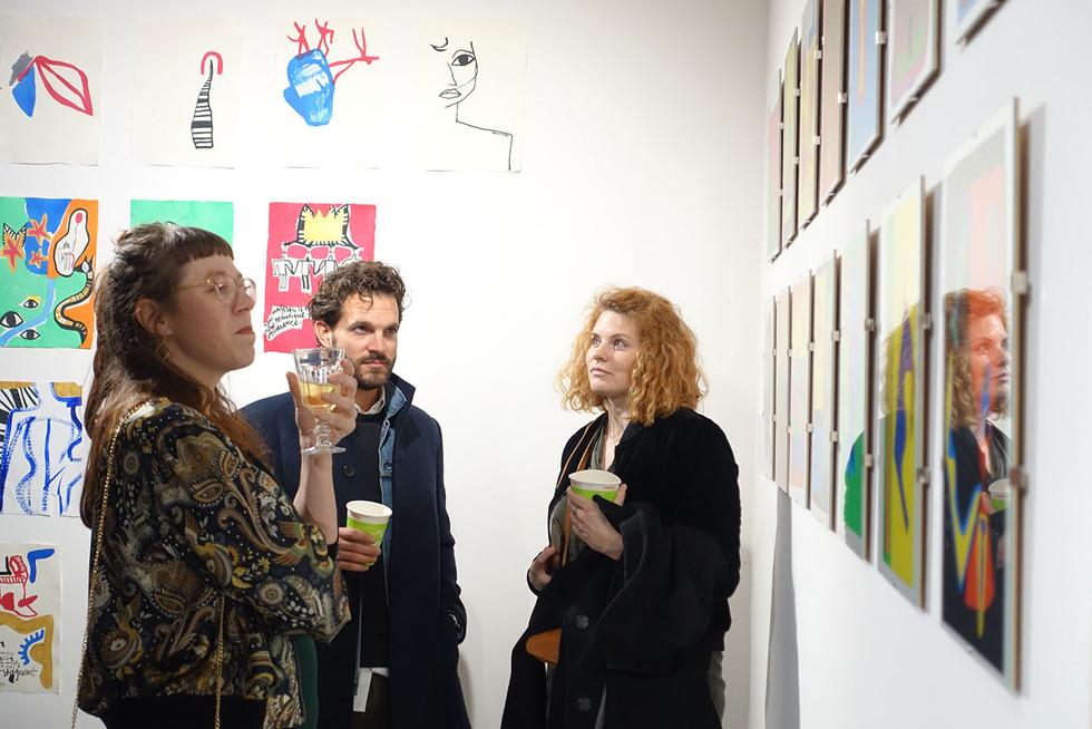 Carla Buser, Thierrey Beyeler und Reta Guetg