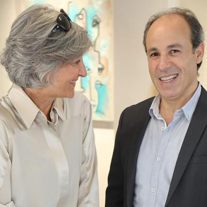 Angela Zwahlen und Allam Fakhour (Künstler)