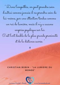 L'empathie selon Christian Bobin
