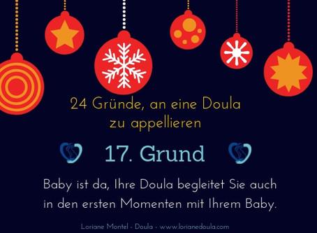 Adventszeit der Schwangeren - Tag 17