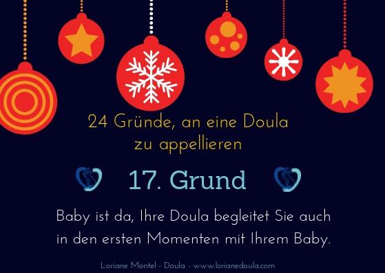 Advent der Schwangeren 17. Grund