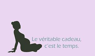 """Chèque Cadeau Loriane Doula: """"Une Doula pour Toi"""""""