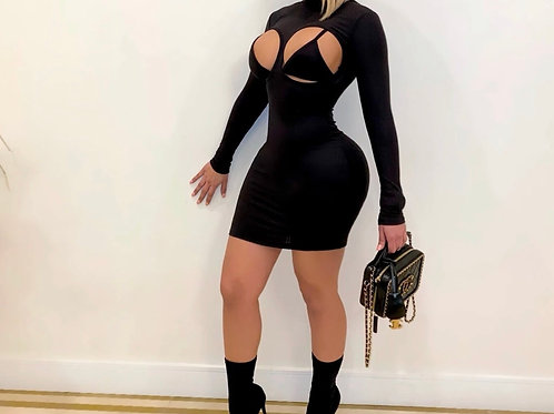 Cuffed Dress