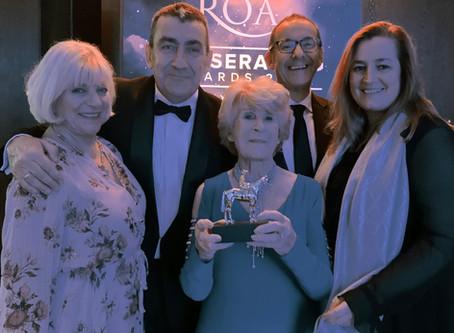 Roy Rocket honoured at ROA Awards