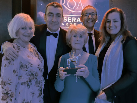 Roy Rocket honoured at ROA Awards