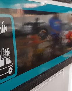 Skhaftin Bus on the move