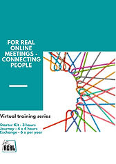 For Real Online Meetings - Connecting Pe
