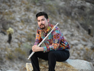 Interview: Chaz Salazar, flutist and activist.