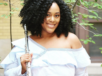 Practice Performing to Combat Nerves by Shantanique Moore, flutist