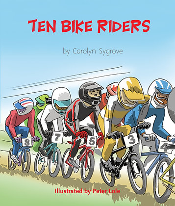 Ten Bike Riders
