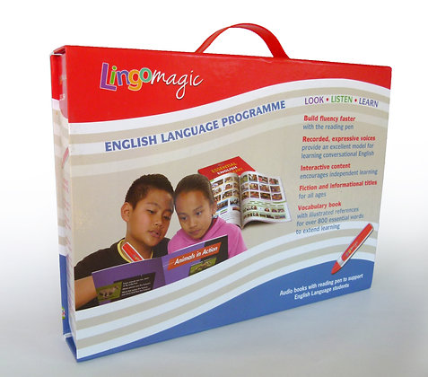 Lingomagic Boxed Set