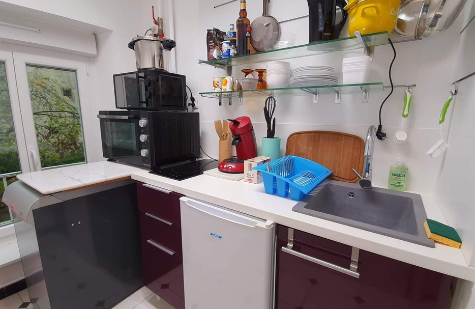 Suite Locative Idéale - La cuisine