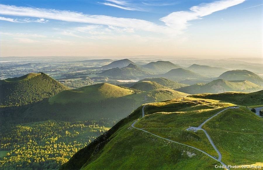 Chaine des volcans d'Auvergne