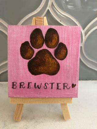 Brewster mini canvas