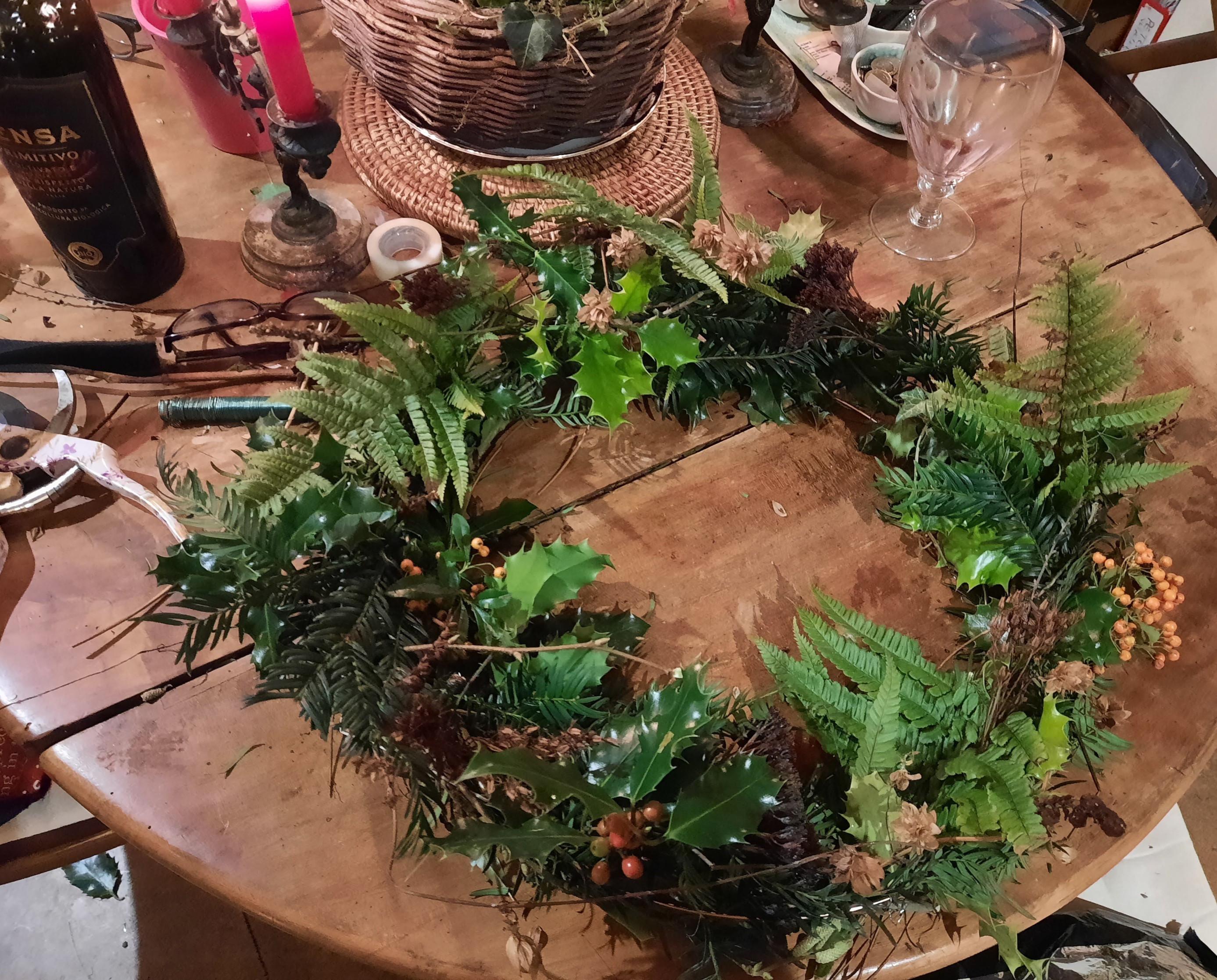 Eco-friendly Christmas Wreath