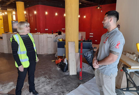 Inspiring Young People into Construction