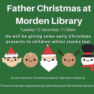 Santa comes to Morden