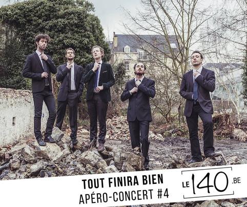 Tout Finira Bien @Le 140 samedi 19 mai à 18h30 - Apéro/Concert