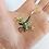 Thumbnail: Dankner 14kt Ruby and Enamel Tree Frog Pin/Brooch