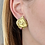Thumbnail: Seidengang 18kt and Pink Tourmaline Horse-carved Earrings