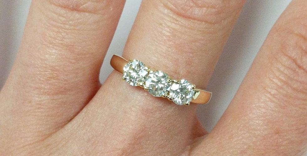14kt Diamond Ring