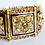 Thumbnail: 14kt Sapphire, Pearl and Enamel Floral Bracelet