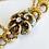 Thumbnail: 14kt Floral Enamel Bracelet