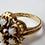 Thumbnail: 14kt Opal Flower Ring