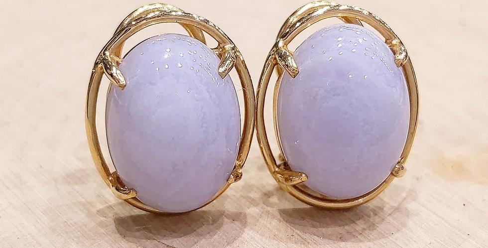 Gumps 14kt Blue Lace Agate