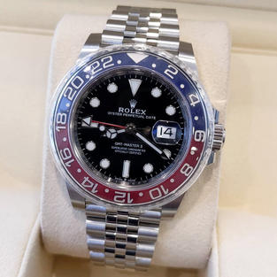 Rolex GMT-Master II - $21,500