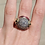 Thumbnail: 18kt Old Mine cut Diamond and Ruby Dome Ring