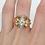 Thumbnail: 18kt Two-tone Diamond Ring