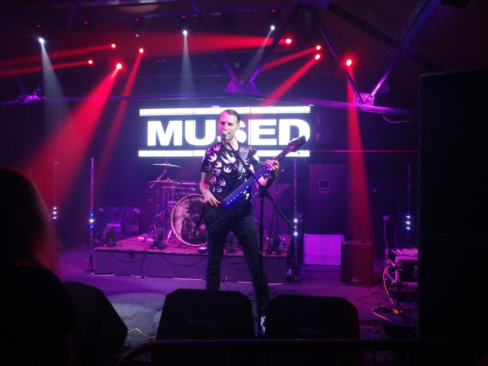Stu - Bass Mused, Muse Tribute band