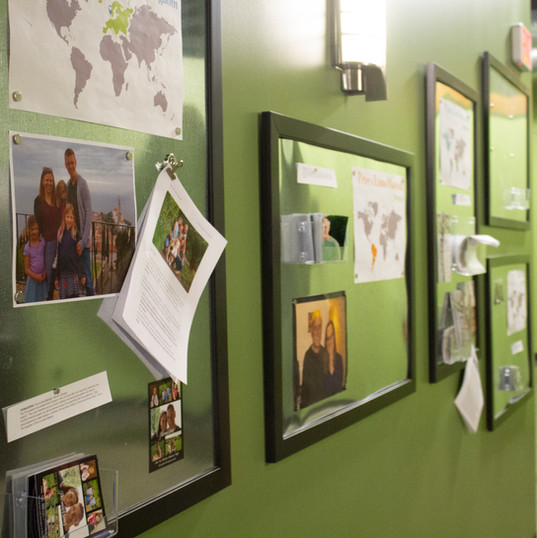 Global Ministry Wall